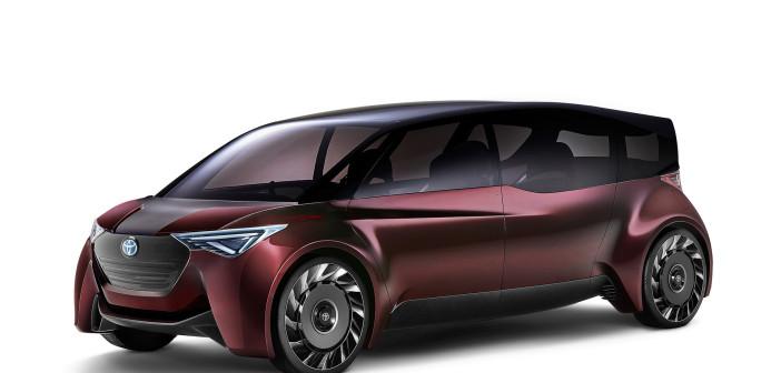Водородный минивэн Toyota Fine-Comfort Ride